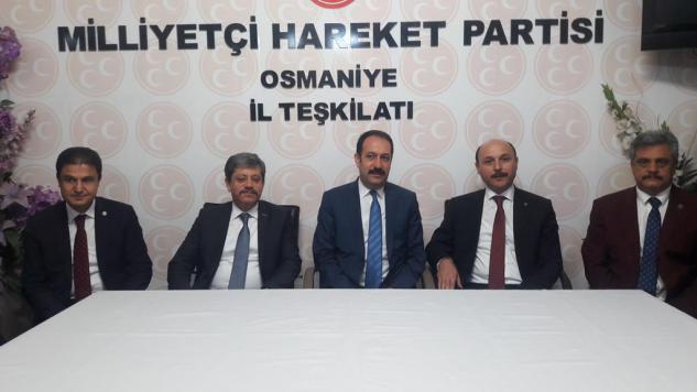 MHP İl Başkanımız Melih LOŞ'u Ziyaret Ettik