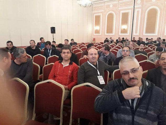 TÜRK EĞİTİM-SEN İLÇE TEMSİLCİLERİ İSTİŞARE TOPLANTISI