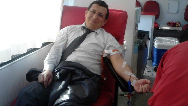Şehitlere vefa gününde kan bağışı yaptık