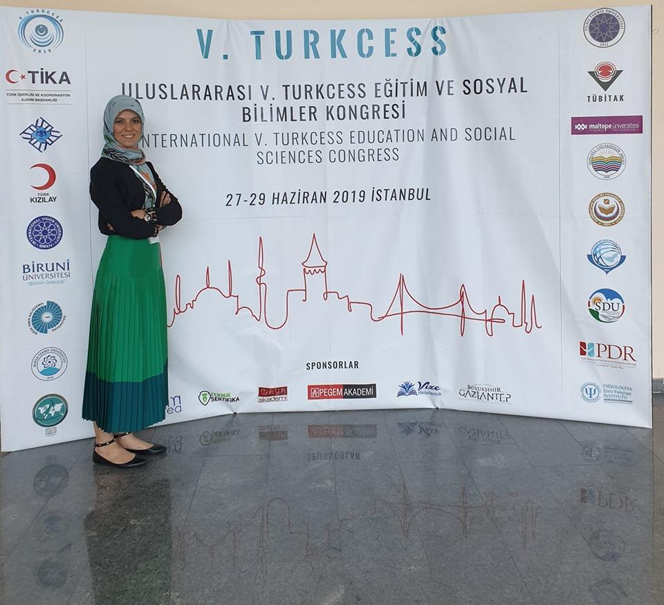 Fatma ALACA V. Sosyal Bilimler Kongresinde Osmaniye sunumunu yaptı