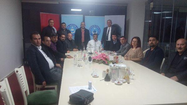 İlçe Başkanlarımızla İstişare Toplantısı Yapıldı