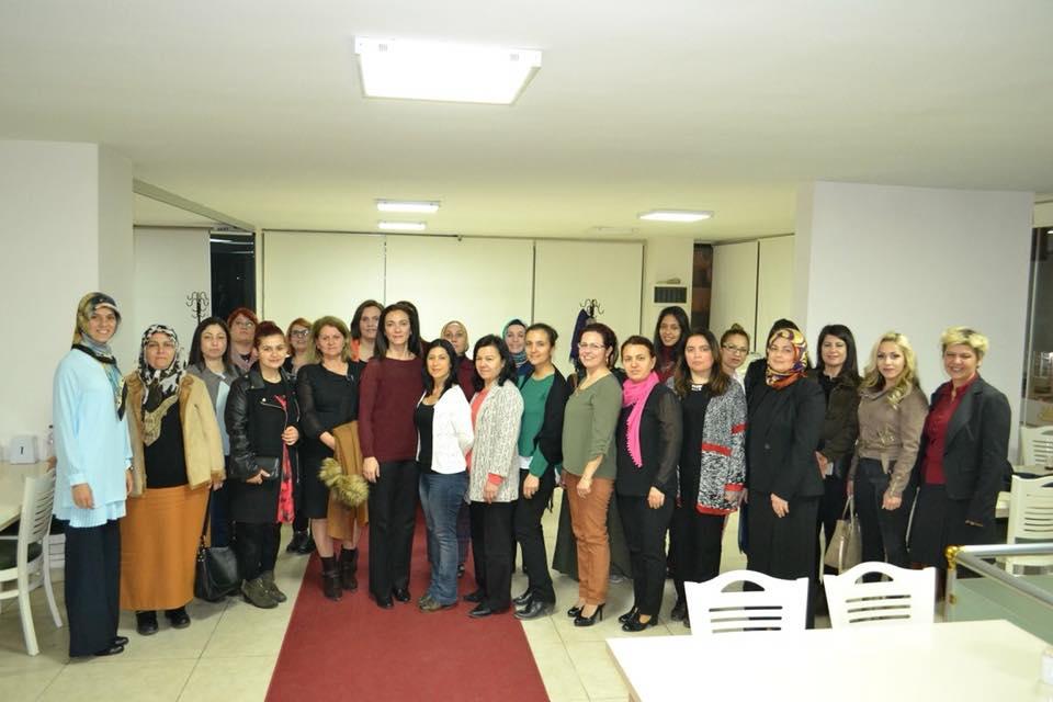 Merkez ve Üniversite İşyeri Kadın Temsilcilerimizle 8 Mart'ı Kutladık