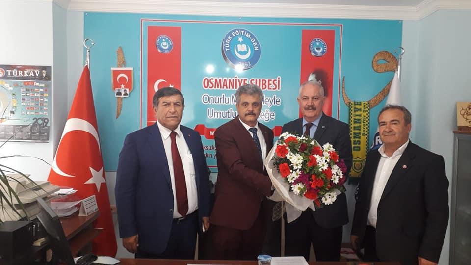 MHP Osmaniye Belediye Meclisi Adaylarımızdan Sendikamıza Ziyaret