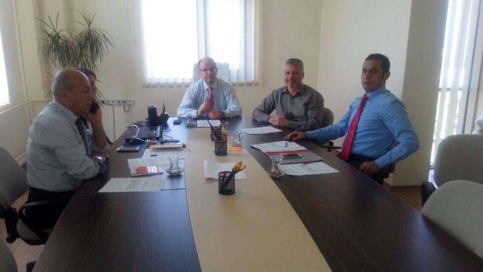 OKÜ Ekim Ayı Kurum İdari Kurulu Toplantısı Yapıldı