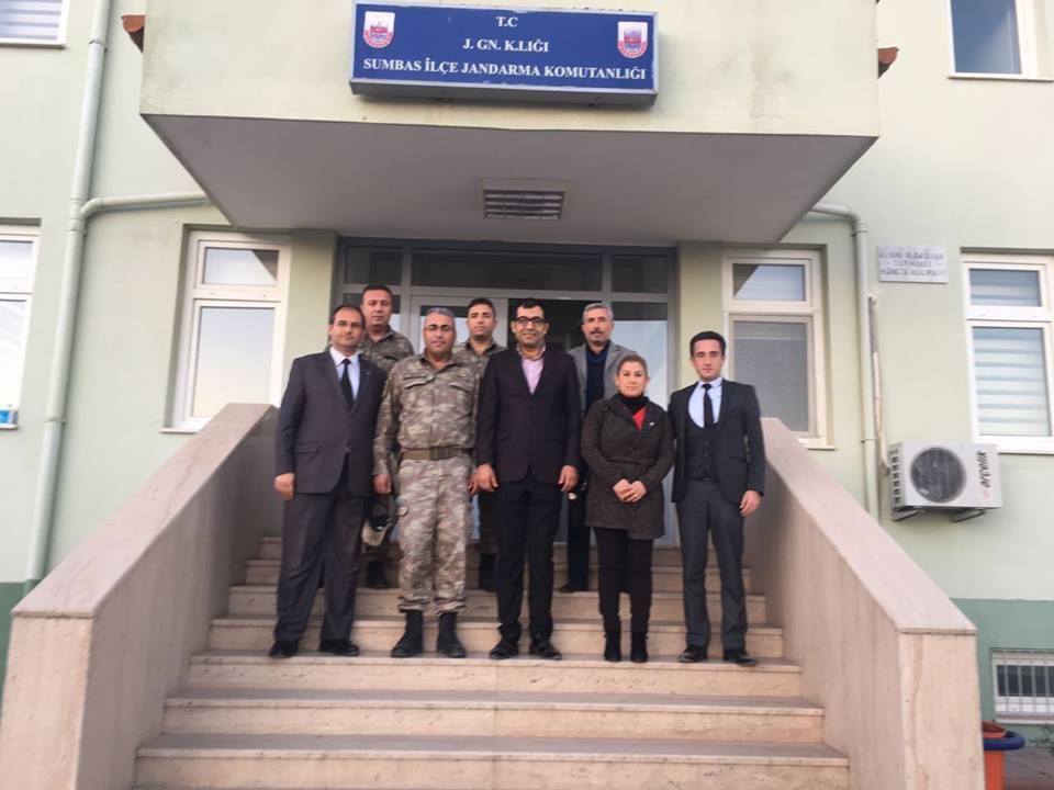 SUMBAS TES Güvenlik Güçlerimize Taziye Ziyaretinde