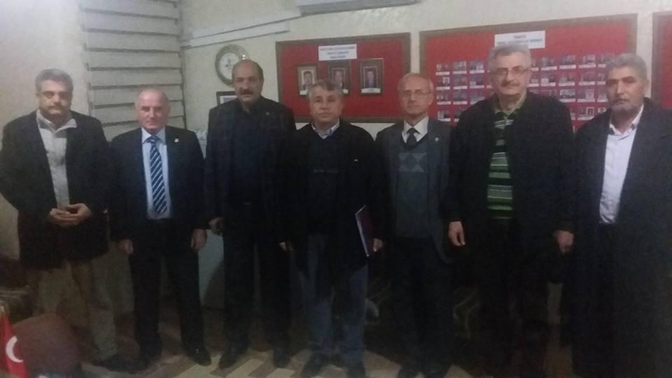 OSEV 7 Ocak Kurtuluş Günü ve Mamure Etkinlikleri İçin Toplandı