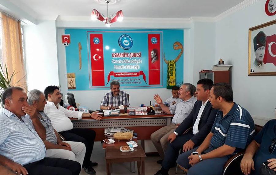 MHP'den Sendikamıza Ziyaret