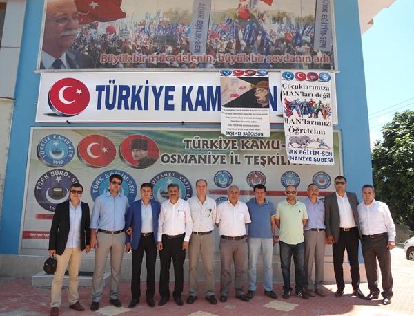 Adana 1. Nolu Şubeden Sendikamıza Ziyaret