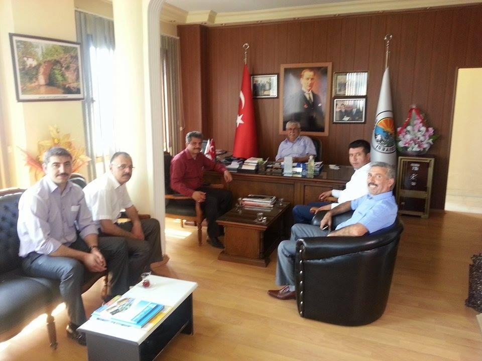 Mustafa Nuri NUHOĞLU'na hayırlı olsun ziyareti