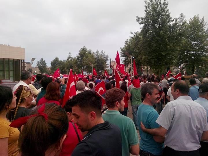 Kadirli-Sumbas Temsilciligimiz Bayrak Yürüyüşü