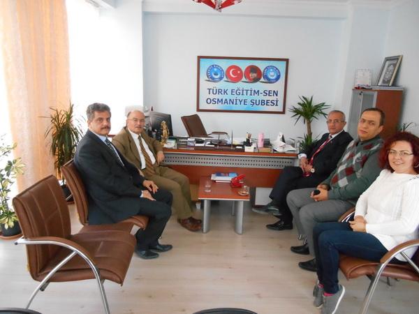Belediye Başkan Yardımcılarından Ziyaret